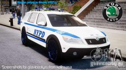 Skoda Octavia Scout NYPD [ELS] для GTA 4