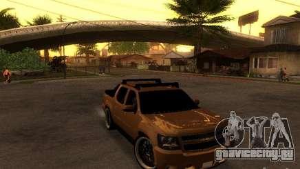 Chevrolet Avalanche Tuning для GTA San Andreas