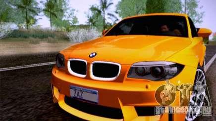 BMW 1M E82 Coupe для GTA San Andreas