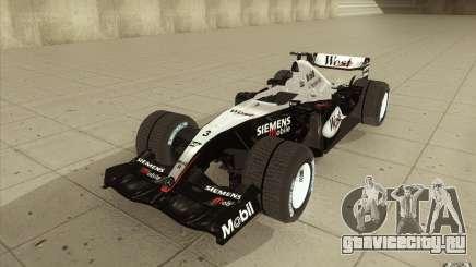 McLaren Mercedes MP 4-19 для GTA San Andreas