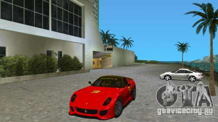 Ferrari 599 GTO для GTA Vice City