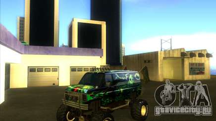 Ford E-250 monster truck 1986 для GTA San Andreas