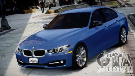 BMW 335i F30 2012 Sport Line v1.0 для GTA 4