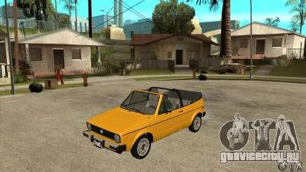 Volkswagen Rabbit Convertible для GTA San Andreas