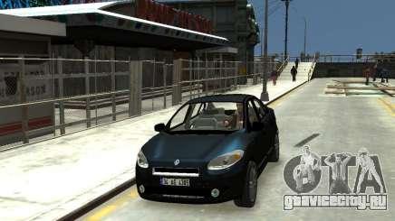 Renault Fluence для GTA 4