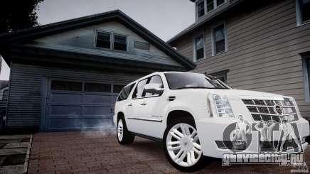 Cadillac Escalade ESV для GTA 4