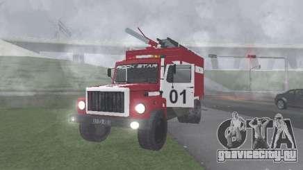 ГАЗ 3309 Пожарная для GTA San Andreas