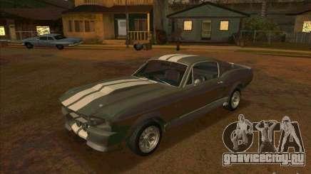 Ford Shelby GT500 Eleanor для GTA San Andreas