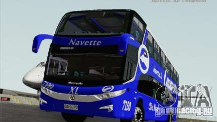 Marcopolo Paradiso 1800 DD Navette XL Coomotor для GTA San Andreas