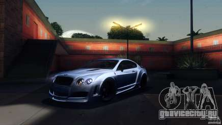 Bentley Continental GT Premier4509 2008 Final для GTA San Andreas