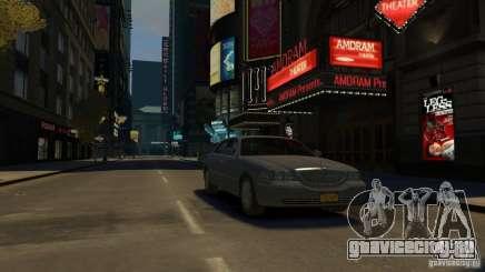 Lincoln Town Car 2003-11 v1.0 для GTA 4