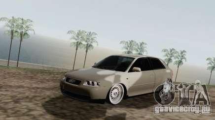 Audi A3 серебристый для GTA San Andreas