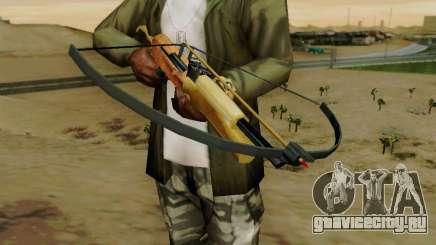 Рабочий арбалет со стрелами для GTA San Andreas