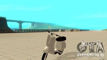 GTAIV EFLC Faggio Classic для GTA San Andreas