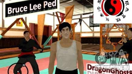 Скин Брюса Ли для GTA San Andreas