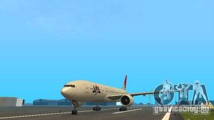 Boeing 777-200 Japan Airlines для GTA San Andreas