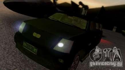 Suv Call Of Duty Modern Warfare 3 для GTA San Andreas