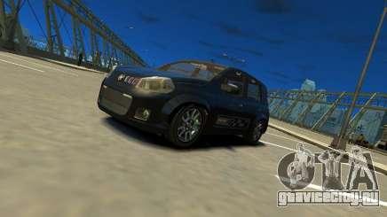 Fiat Novo Uno Sporting для GTA 4