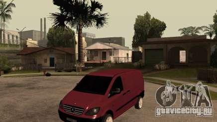 Mercedes-Benz Vito 2009 для GTA San Andreas