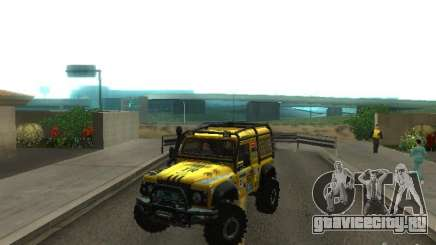 Land Rover Defender Off-Road для GTA San Andreas