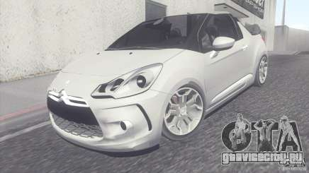 Citroen DS3 Convertible для GTA San Andreas