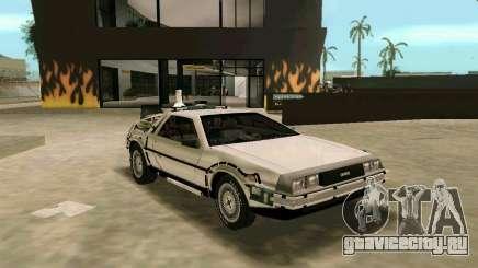 BTTF DeLorean DMC 12 для GTA Vice City
