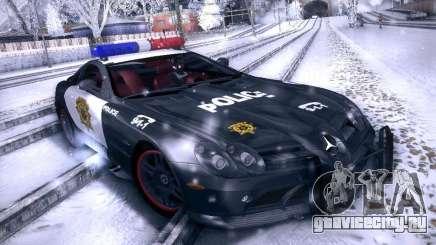 Mercedes-Benz SRL 722 Police для GTA San Andreas