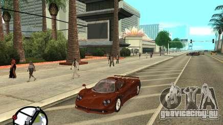 Pagani Zonda F для GTA San Andreas