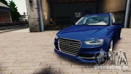 Audi RS4 Avant 2013 v2.0 для GTA 4