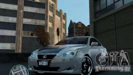 Lexus IS350 2006 v.1.0 для GTA 4