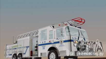 Pierce Puc Aerials. Bone County Fire & Rescue. Ladder 79 для GTA San Andreas