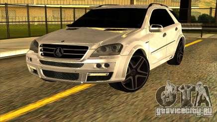 Mercedes-Benz ML63 AMG W165 Brabus для GTA San Andreas