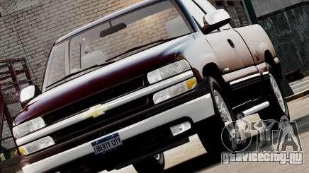 Chevrolet Silverado 1500 2000 для GTA 4