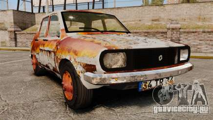 Renault 12 Toros ржавый v2.0 для GTA 4
