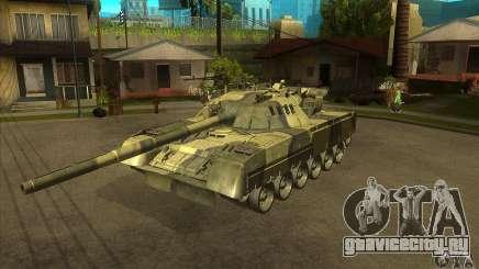 T-80U MBT для GTA San Andreas