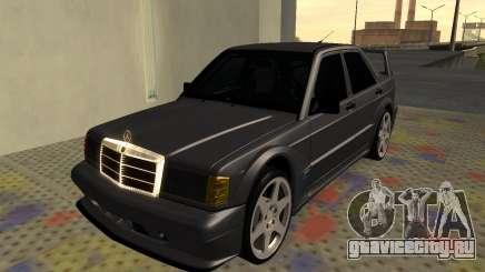 Mercedes-Benz 190E Evolution II 2.5 1990 для GTA San Andreas