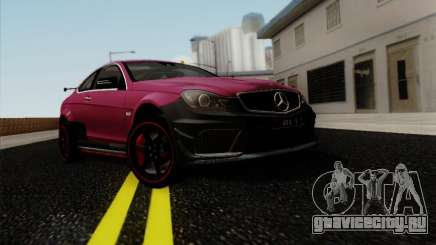 Mercedes Benz C63 AMG Coupe Presiden Indonesia для GTA San Andreas