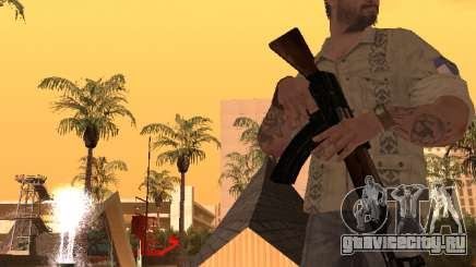 Франк Вудс из Call of Duty Black Ops для GTA San Andreas