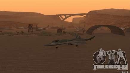 YF-23 для GTA San Andreas