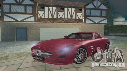 Mercedes-Benz SLS AMG 2011 V3.0 для GTA San Andreas