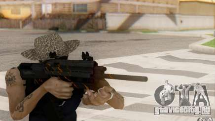 Saiga 12c из Warface для GTA San Andreas