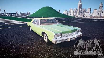 Dodge Monaco 1974 american racing torq thrust rims для GTA 4