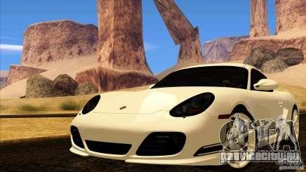 Porsche Cayman R 987 2011 V1.0 для GTA San Andreas