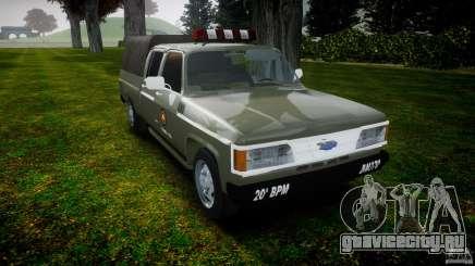 Chevrolet D20 Brigada Militar RS для GTA 4