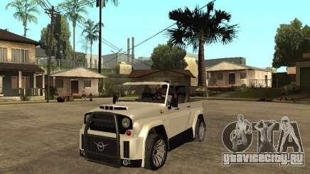 Uaz Cabriolet для GTA San Andreas