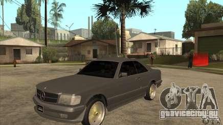 Mercedes-Benz 560 sec w126 1991 для GTA San Andreas