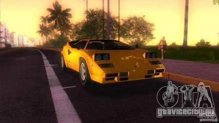 Lamborghini Countach для GTA Vice City