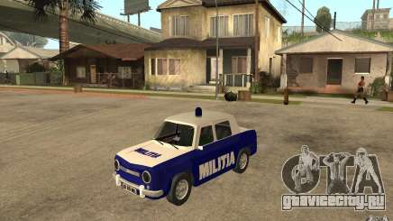 Dacia 1100 Militie для GTA San Andreas