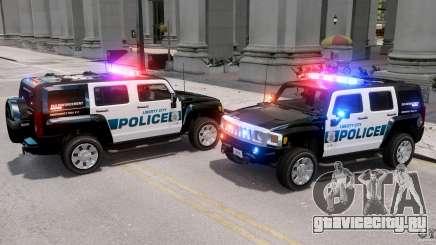 Hummer H3X 2007 LC Police Edition ELS для GTA 4