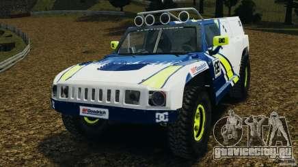 Hummer H3 raid t1 белый для GTA 4
